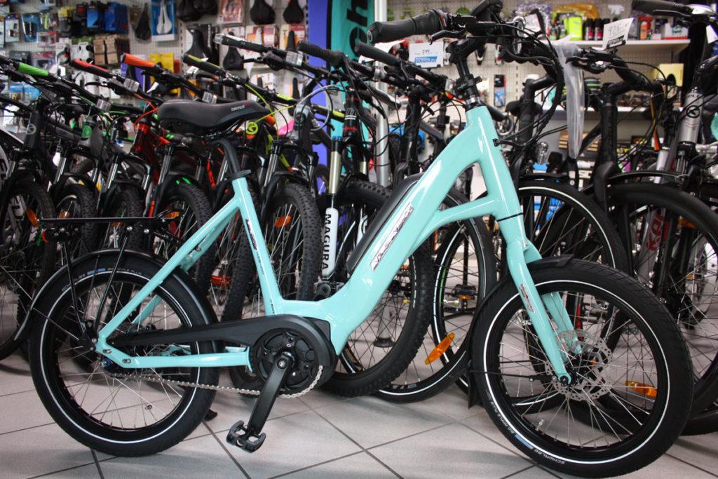 Kompakt-E-Bike von Velo de Ville