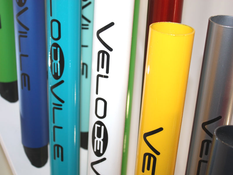 Farbmuster für Fahrräder von Velo de Ville