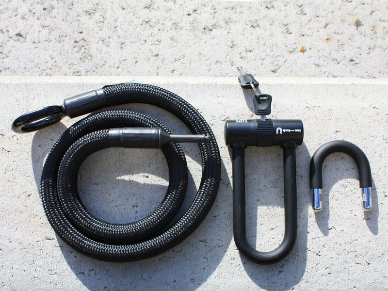 Tex-lock Fahrradschloss mit Bügelschloss